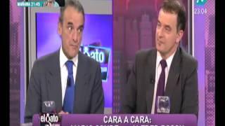 Mario Conde explica al portavoz de ERC por qué una nación catalana es inviable