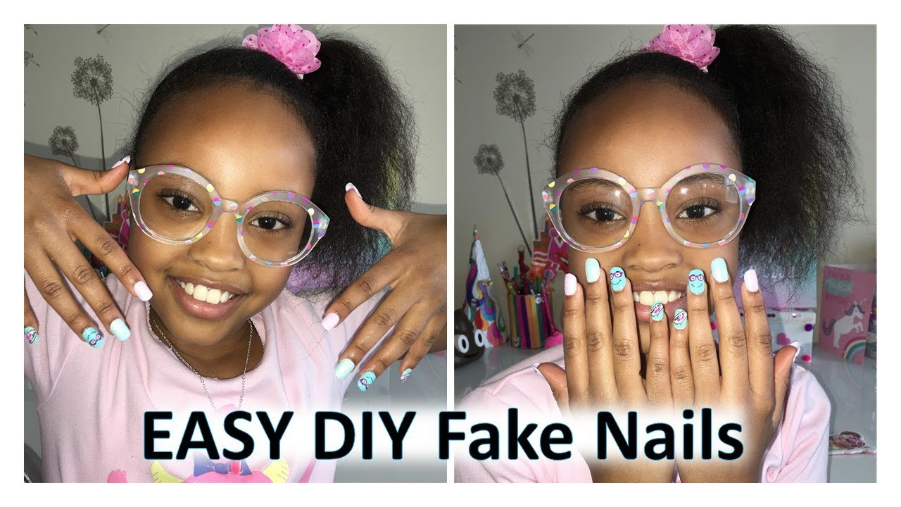 Diy Fake Nails At Home Justice Press On Review