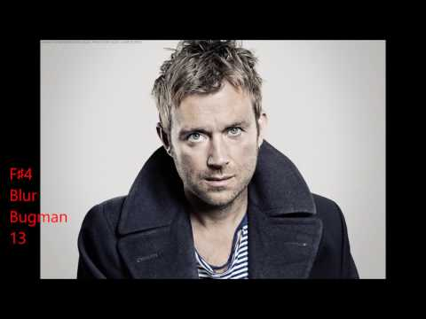 The Vocal Range of Damon Albarn