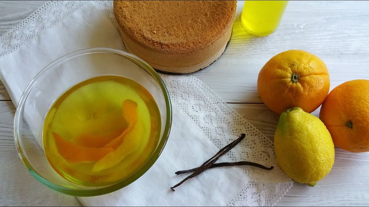 Bagna analcolica per torte - YouTube