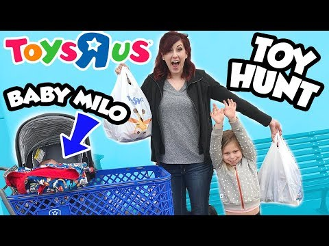 CRAZY TOY HUNT At Toys R Us With Baby Milo And New Paw Patrol Toys By Epic Toy Channel