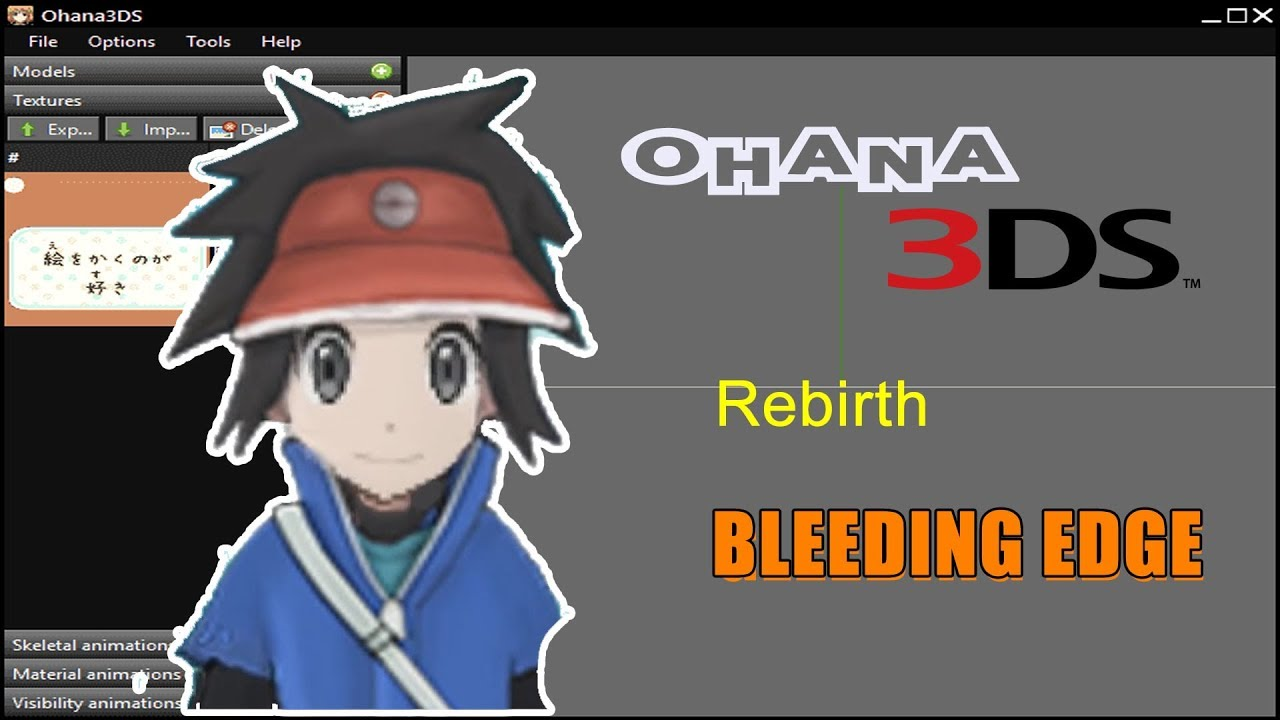 How To Build Ohana3DS [BleedingEdge Version] [Edit Your 3DS Models]