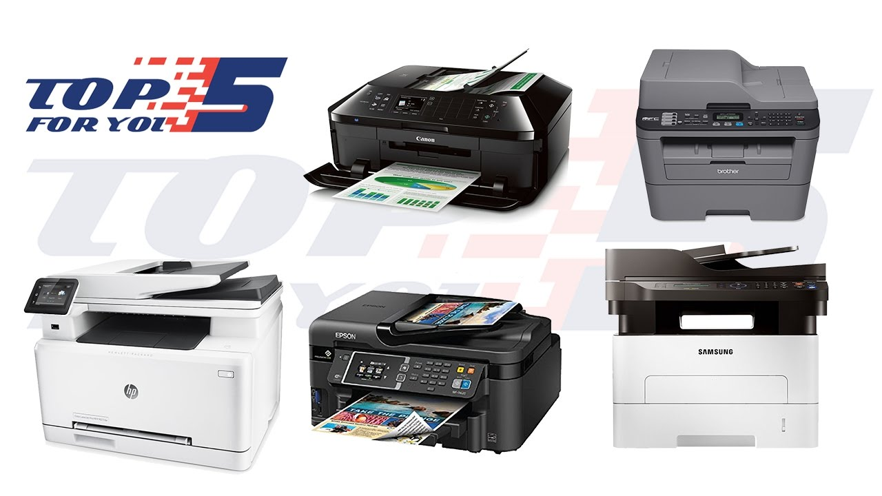 top 5 best all in one printers for 2017 2018 youtube