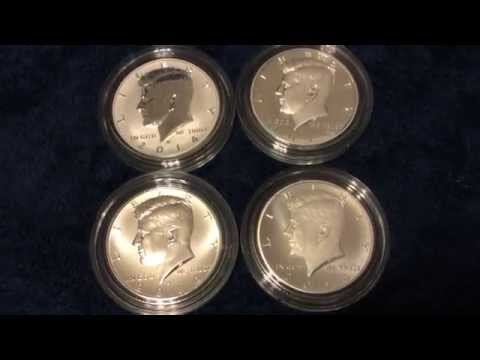 50th Anniversary Kennedy Silver Coin Set Unboxing