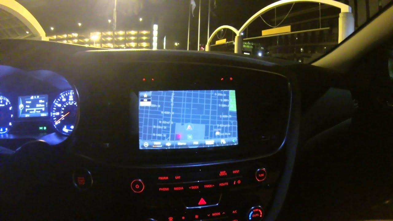 2014 Kia Optima SXL Night Time Review - YouTube