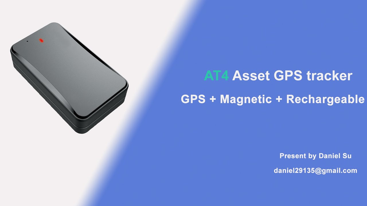 Concox AT4 asset GPS Tracker introduction
