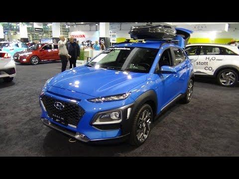 2020 Hyundai Kona Hybrid Vertex 1.6 GDi DCT 141 - Exterior and Interior - Auto Zürich Car Show 2019