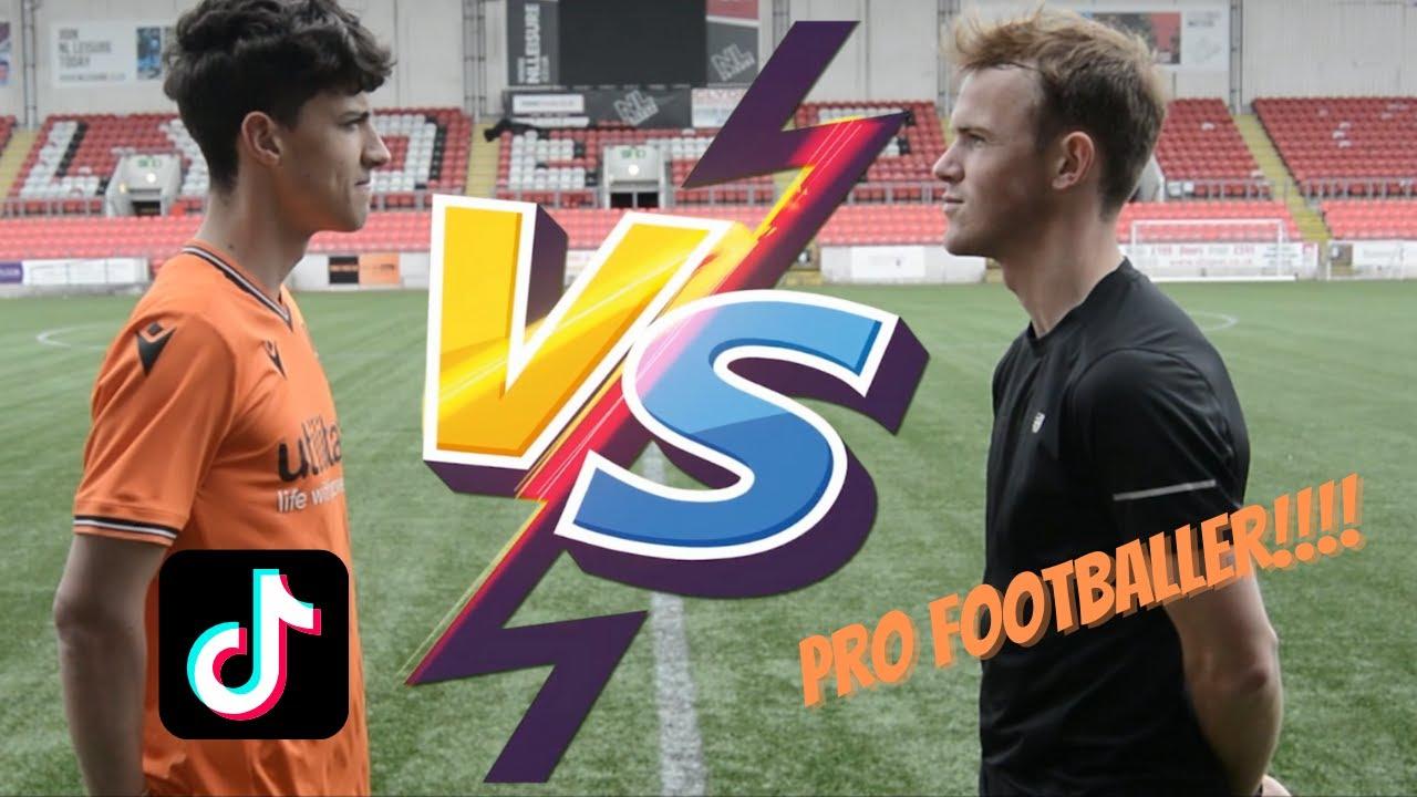Download TIKTOKER VS PRO FOOTBALLER!!! (Callum Grant vs Sam Wardrop)