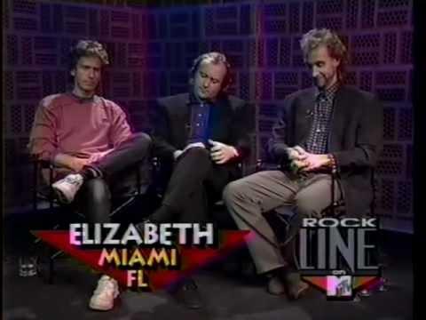 Genesis Rockline 1991 Interview