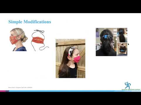 Autism & COVID-19 Webinar 4: Wearing Face Masks