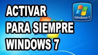 Cómo Activar Windows 7 Para Siempre - Activated! Sin Errores, Full Activación, Bien Explicado [2016]