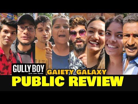 Gully Boy Movie PUBLIC REVIEW At Gaiety Galaxy | Ranveer Singh, Alia Bhatt | Zoya Akhtar Film Mp3