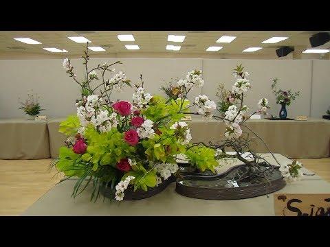 Cupertino Cherry Blossom Festival 2018 - Wafu Ikebana