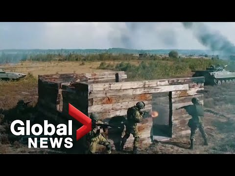 Zapad 2021: Putin oversees massive Russia-Belarus war games as joint military drills continue