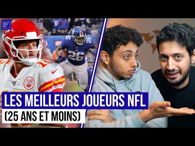 LES MEILLEURS JOUEURS NFL DE 25 ANS OU MOINS !