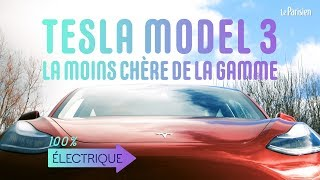 Tesla Model 3 : on a testé la moins chère de la gamme