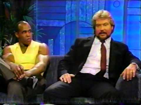 Ted Dibiase & Virgil @ The Arsenio Hall Show