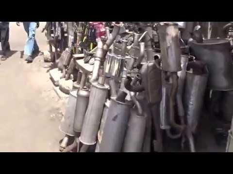 0806 Auto Parts Outdoor Market, Accra Ghana, 5 10 2016