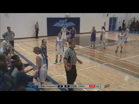 St Albert vs Ross Sheppard: Senior Girls