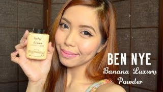 Ben Nye Banana Luxury Powder REVIEW- saytiocoartillero