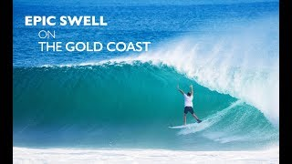 Epic Swell on the Gold Coast - Cyclone Gita 2018 (Kirra)
