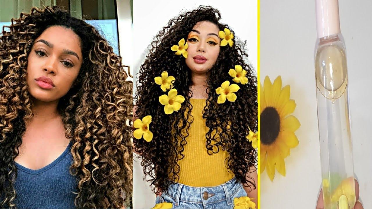 😍👅Con esta AGUA MISCELAR para el cabello lograrás rizos hidratados y controlar el frizz!