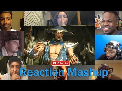 Injustice 2   Introducing Raiden  REACTION MASHUP
