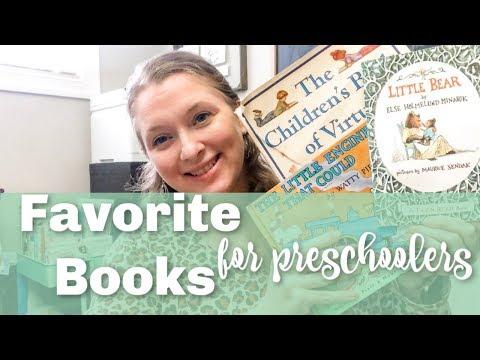 BEST BOOKS FOR PRESCHOOL AND KINDERGARTEN | LIVING BOOKS