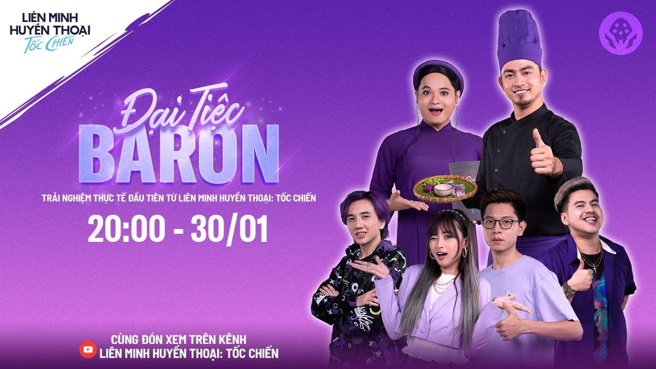 Đại Tiệc Baron   Trailer tập 01 – Liên Minh Huyền Thoại: Tốc Chiến   Tất tần tật những thông tin liên quan đến đại tiệc chính xác nhất