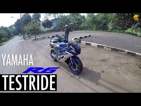Yamaha R6 Testride (bukan review) a.k.a Rexy punyanya Jodie Motovlog HD