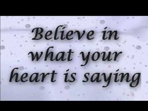 Believe Josh Groban Lyrics Video