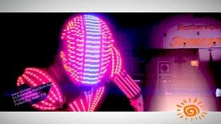 Restauracja Słoneczna - Roboty LED -Patrick White & Margo