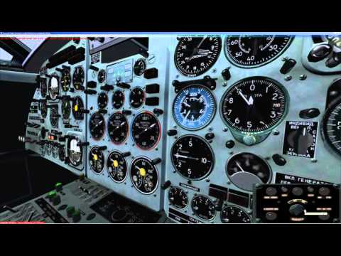 FSX | Як 40 | YK 40 | Manual | Tutorial | Cold and Dark | LIRP - LIPX
