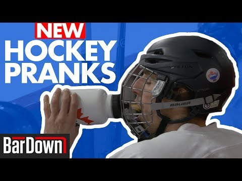 NEW HOCKEY PRANKS IN AN ADULT LEAGUE GAME thumbnail