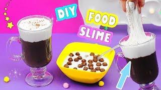 DIY Как сделать ЛИЗУН В ВИДЕ ЕДЫ | Food SLIME | СЛАЙМ ЕДА