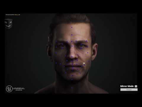 This Face Built in Unreal Engine Looks Disturbingly Lifelike