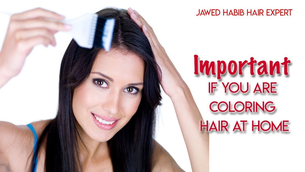First wash after coloring hair at home l Jawed Habib Color Tips