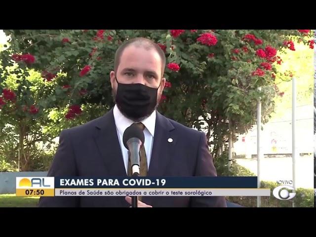 Planos obrigados a cobrir sorologia para COVID-19