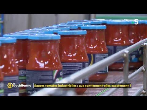 Sauces tomates industrielles : que contiennent-elles exactement ?