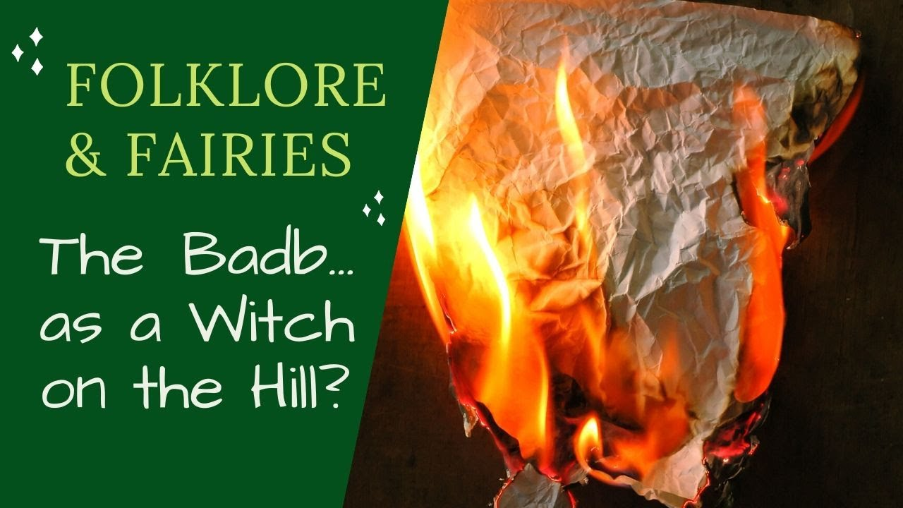The Badb? Witch of Caslin's Hill - Irish Folklore and Fairytales - Lora O'Brien - Irish Pagan School