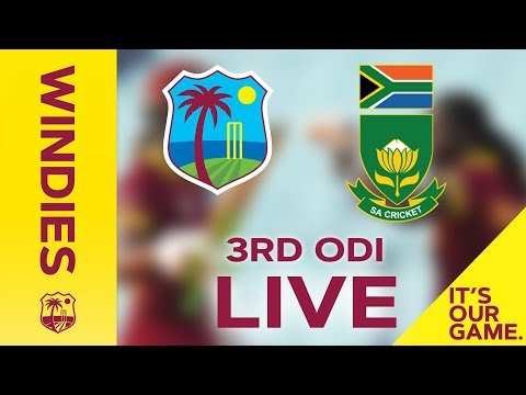 FULL MATCH | Windies Women v South Africa | 3rd ODI - 22 September 2018