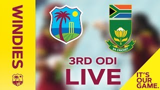 *LIVE STREAM*   Windies Women v South Africa   3rd ODI - 22 September 2018