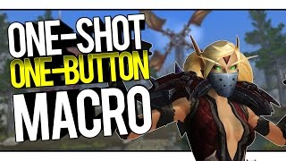 OUTLAW ROGUE ONE SHOT MACRO - Outlaw Rogue PvP WoW Legion 7.1