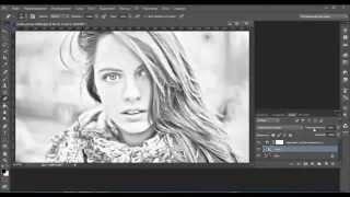 Сделать фото нарисованным в фотошопе Видео уроки-15(Сделать фото нарисованным в фотошопе Видео уроки-15 Моя группа в вк http://vk.com/clubgipster., 2015-02-02T16:59:20.000Z)