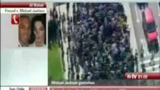Michael Jackson ist tot died † 25 Juni 2009 in Westwood Los Angeles Kalifornien