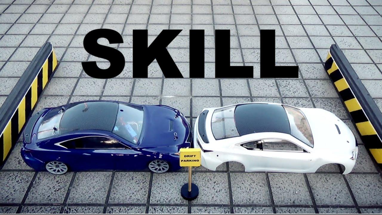 Publicité Lexus RC – le RC Drift