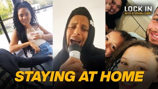 The Curry Family in Quarantine | Lock In with Stephen Curry