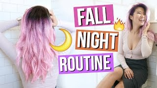 Fall Night Routine 2016!