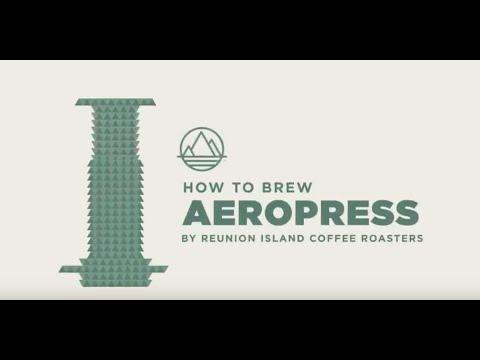 Reunion Island Coffee Roasters: How to Brew - Aeropress