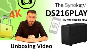 The Synology DS216PLAY - Unboxing Video with SPANTV